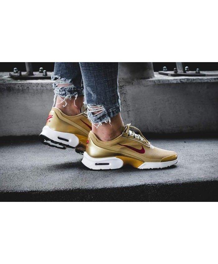 025b016d80ff Womens Nike Air Max Jewell Metallic Gold Trainer