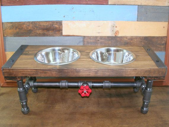 Industrial Dog Feeder Pet Feeder Pet Supplies by TheCleverRaven
