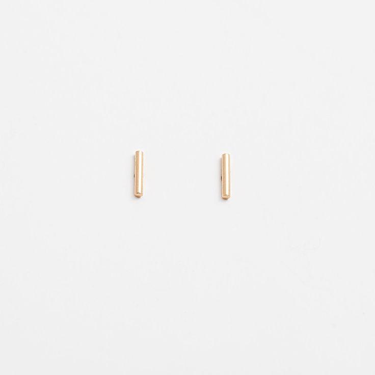 14k gold INA Earring / PAUZE atelier / pauzeatelier.com