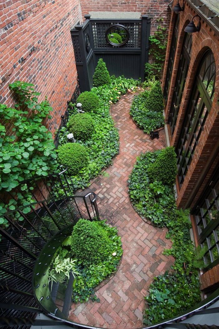 . Could be a lovely side yard. Hidden Gardens via Beacon Hill Garden Club