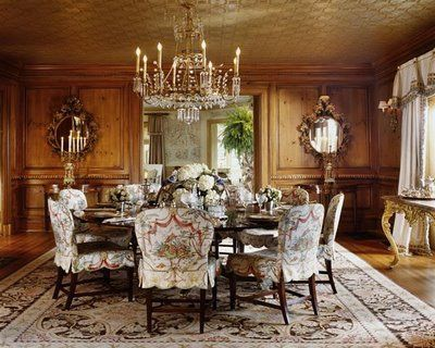 formal dining room designs with chair cover | 199 best Furnishings: Slip cover magic images on Pinterest ...