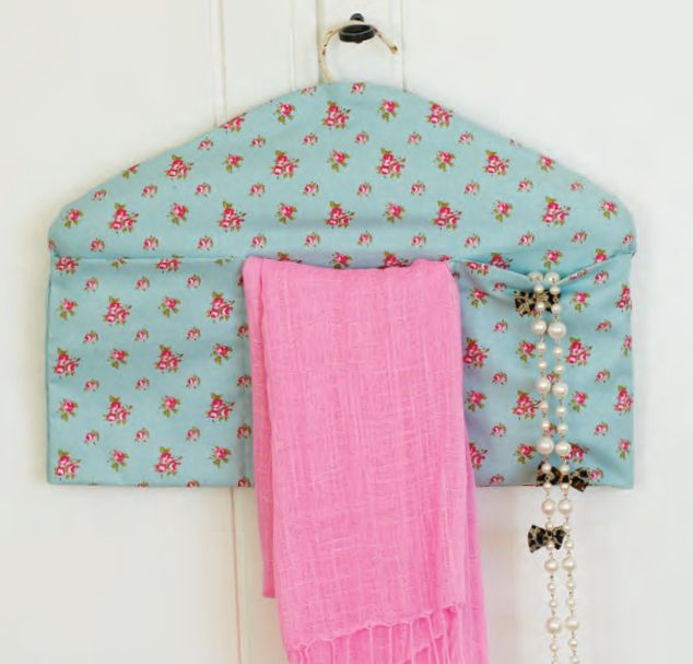 If you're looking for the perfect Mother's Day gift to sew for a special mother in your life – whether your mom, sister, daughter, aunt or friend – we have a great idea to share. This pretty cover designed by Rosina Cassam for our sister magazine Stitch Craft Create's gift edition transforms an ordinary clothes hanger into a practical storage unit. It takes no time at all to make, and …