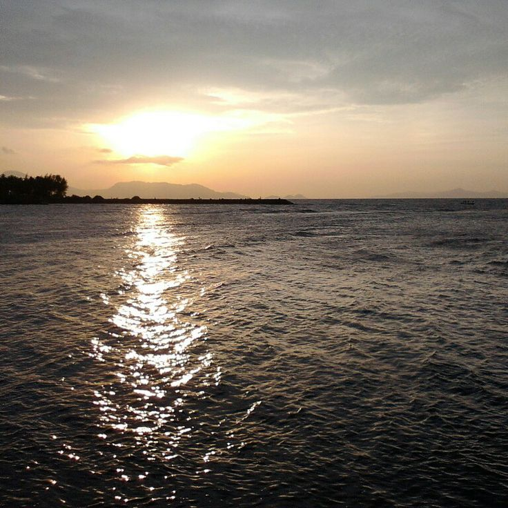 Sunset in Alue Naga