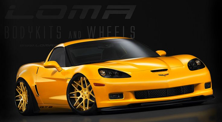 LOMA® MOTORSPORTS CORVETTE C6 Z06 GT2 WIDE BODY CONVERSION KIT | Flickr - Photo Sharing!