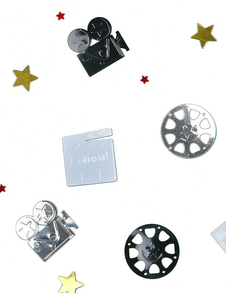Coriandoli a tema cinema su VegaooParty, negozio di articoli per feste. Scopri il maggior catalogo di addobbi e decorazioni per feste del web,  sempre al miglior prezzo!