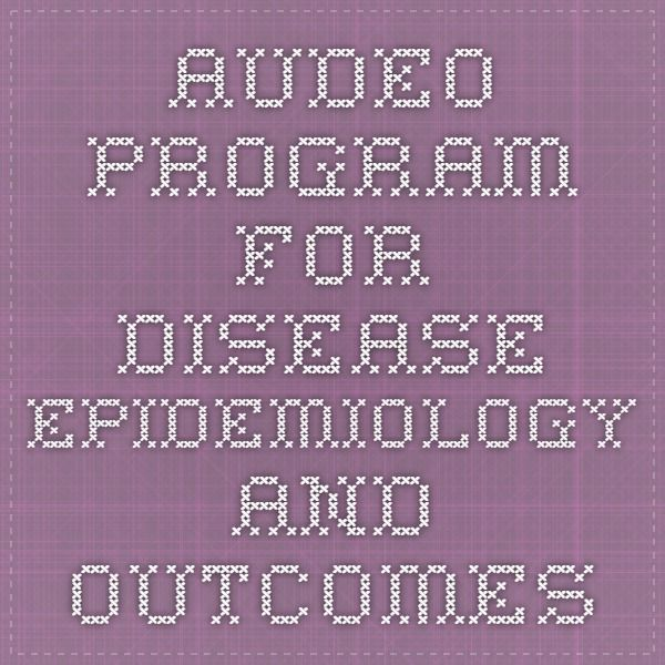 Audeo - Program for Disease Epidemiology and Outcomes