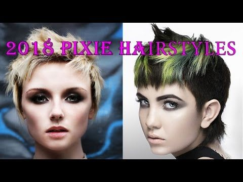 2018 Pixie Hairstyles for Women Over 40 to 60