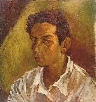 Renato Guttuso - Autoritratto (Self Portrait), 1937.