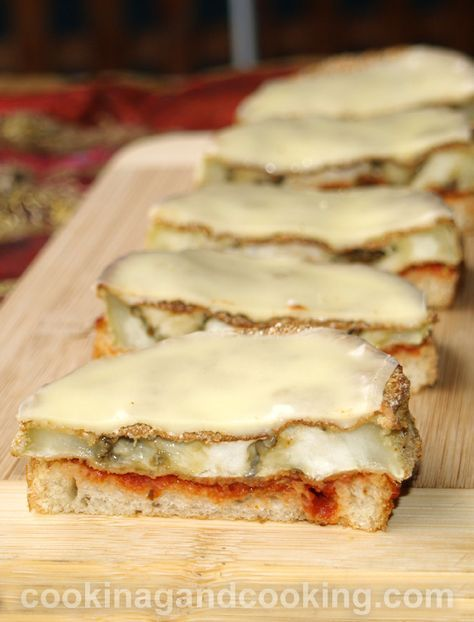Eggplant and Cheese Melt Recipe