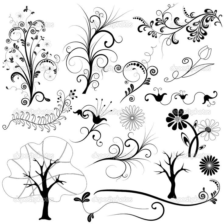 Google Image Result for http://static4.depositphotos.com/1000119/317/v/950/depositphotos_3177581-Set-graphic-floral-element.jpg