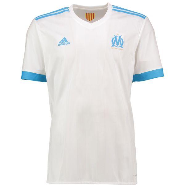 Nouveau maillot domicile de l'Olympique de Marseille (2017-2018)