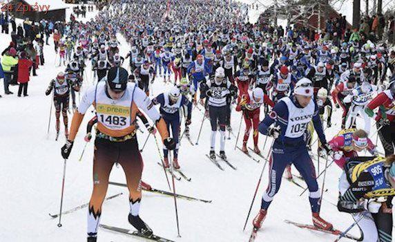 Smutnou zradily lyže, místo obhajoby Vasův běh nedokončila