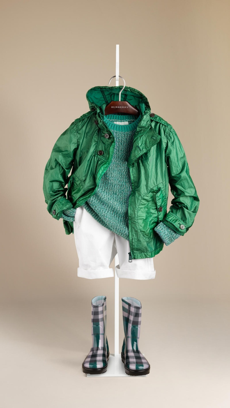 Burberry Showerproof Raincoat  Boys
