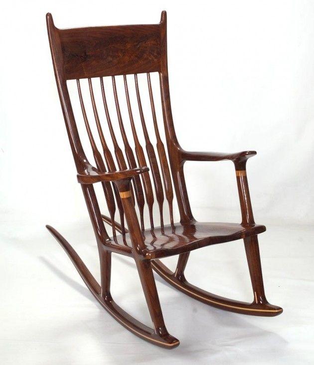23 modern rocking chair designs - Wood Rocking Chair