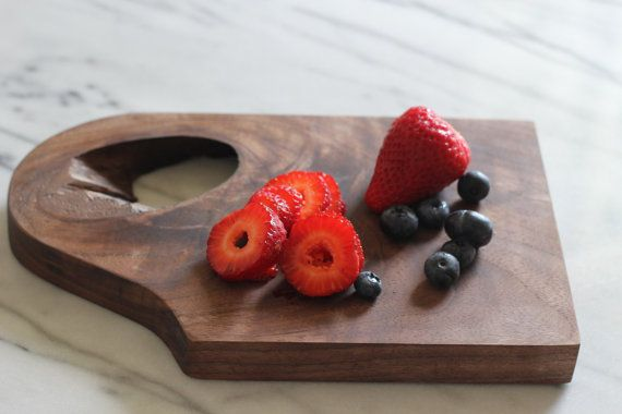 MODERNO Walnut Serving board small by Moderno5 on Etsy