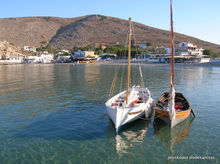Pserimos island near kalymnos, South Aegean in Greece