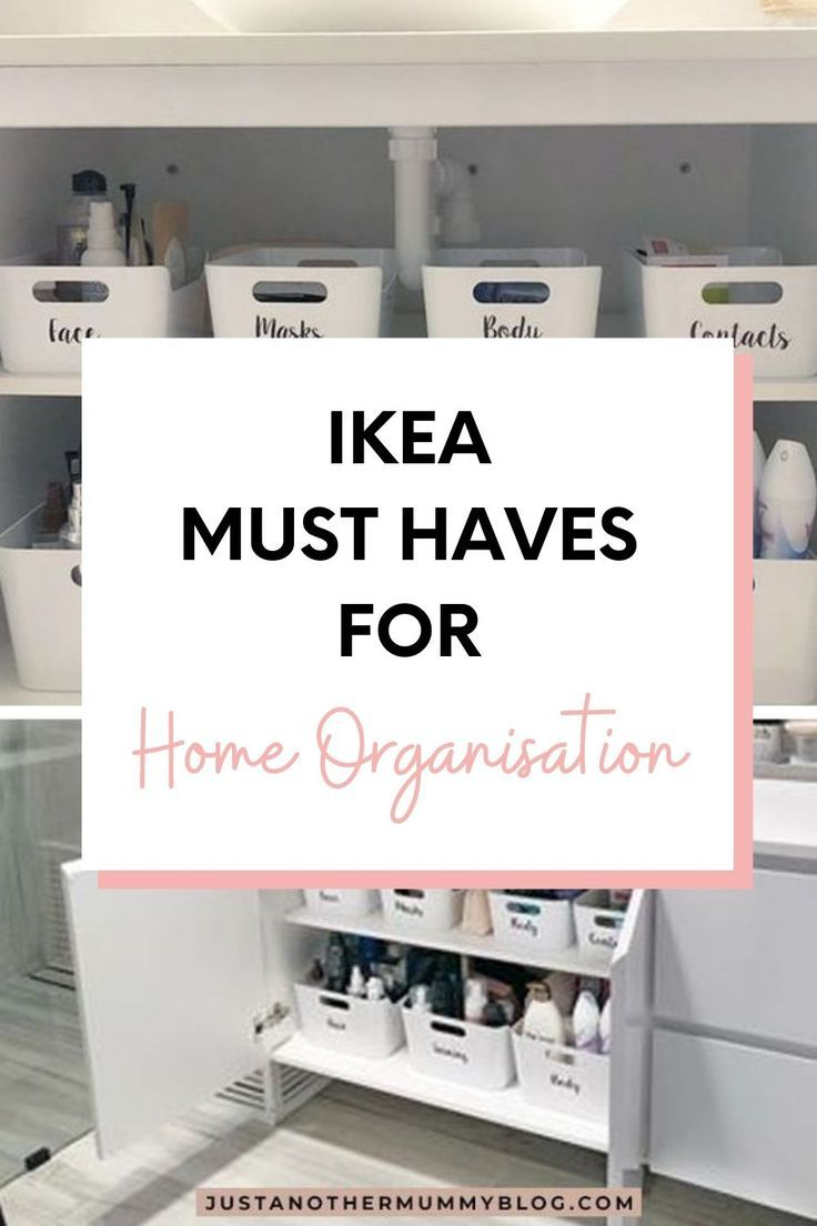 Ikea Must Haves For Home Organisation Just Another Mummy Blog In 2020 Ikea Must Haves Home Organisation Small Space Organization