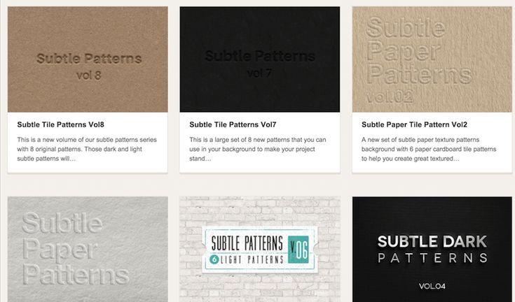 6 sites de de textures à télécharger gratuitement pour vos prochains travaux Photoshop