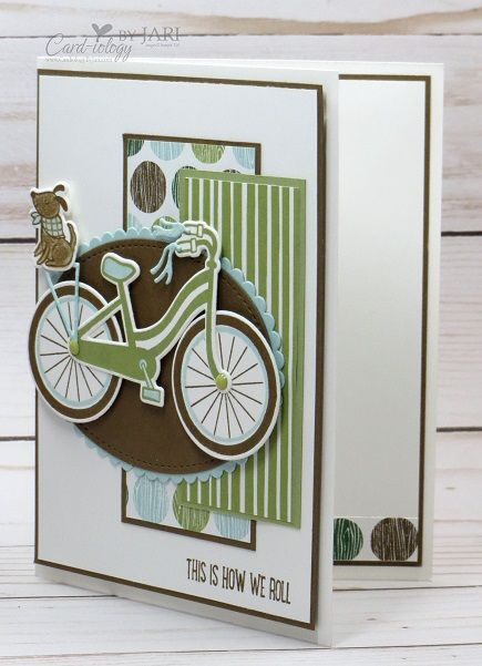 Stampin' Up Bike Ride