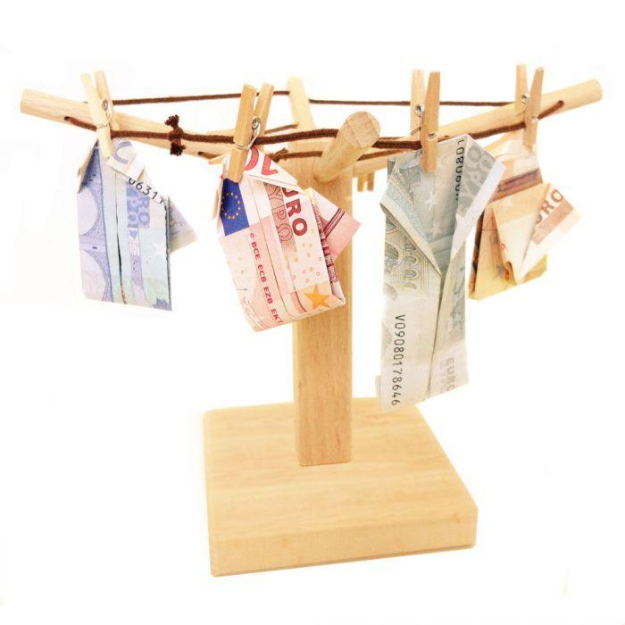 Geld Wäschespinne via: www.monsterzeug.de