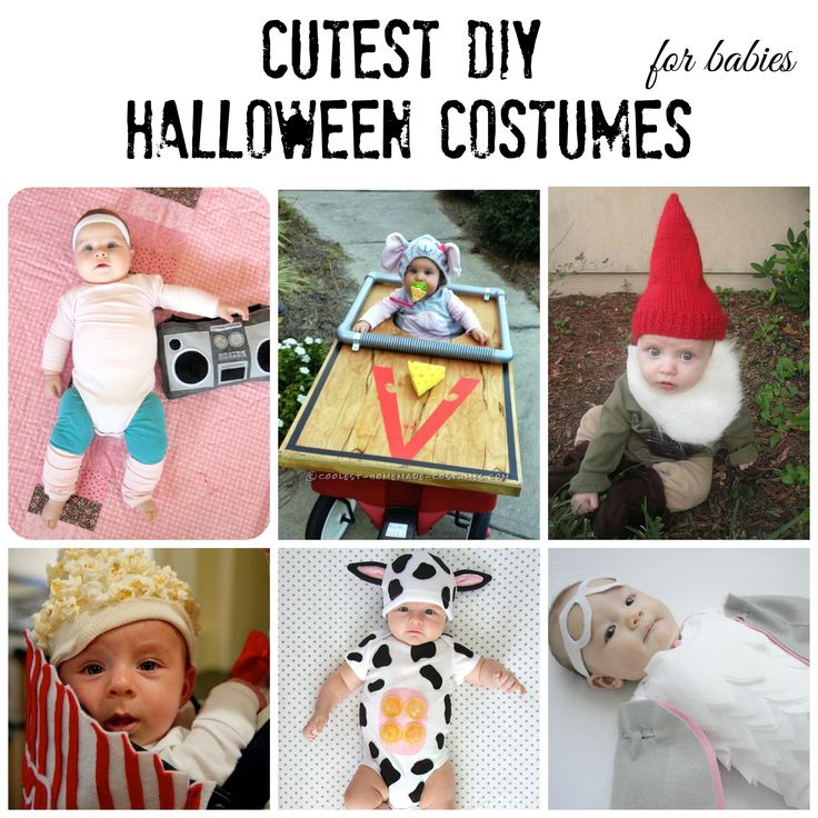 cutest diy halloween costumes for babies - Diy Halloween Baby Costumes