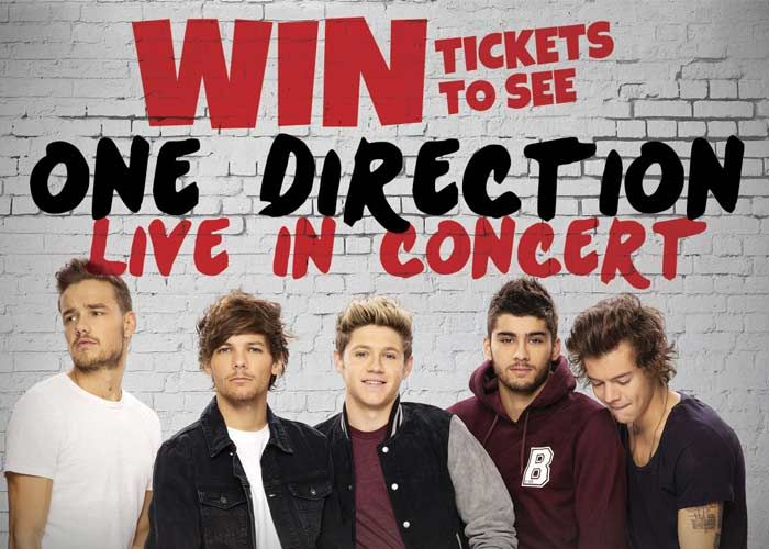 Win Tickets to One Direction Live in Concert!