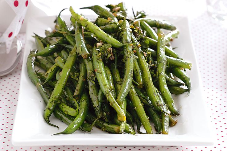 Balsamic vinegar enhances the flavour of the crisp green beans in this delicious side.