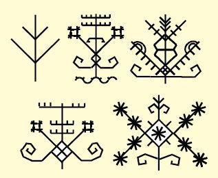 Lithuanian ethnic folk symbols #ornaments #tattoo #Lithuania