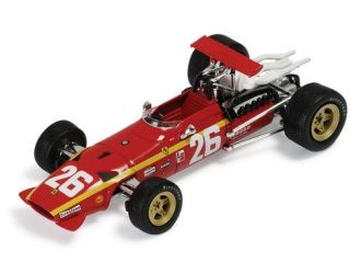 Ferrari 312 F1 (Jacky Ickx - Winner French GP 1968) in Red (1:43 scale by IXO SF13)