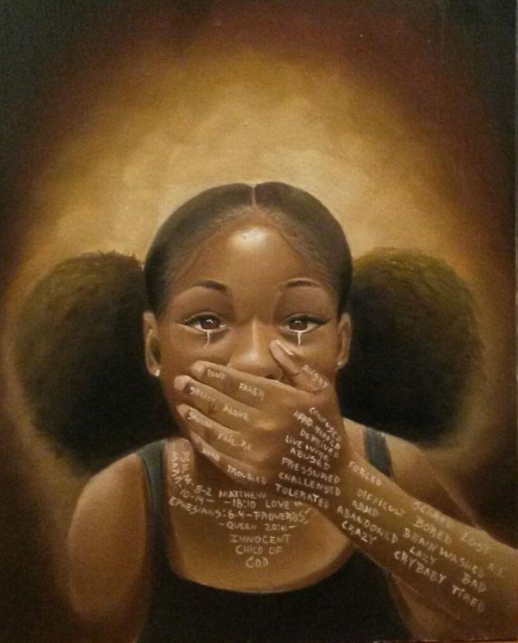 Words Never said. Artist Salaam Muhammad