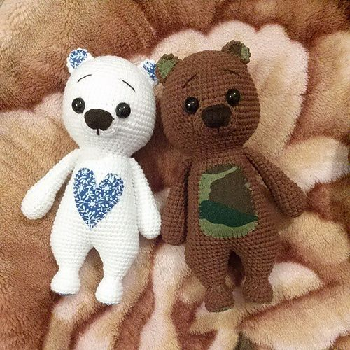 Ravelry: Nelly-hm's Military Bear Mika