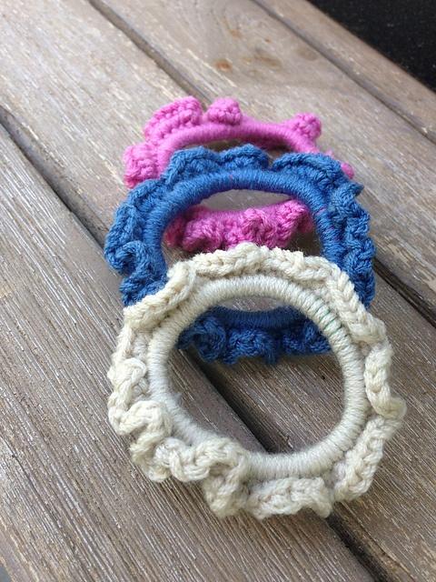29 mejores imágenes de Crochet Hair Accessories en Pinterest ...