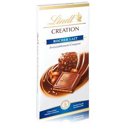 Création Rocher Lait - Chocolats Lindt - Boutique France