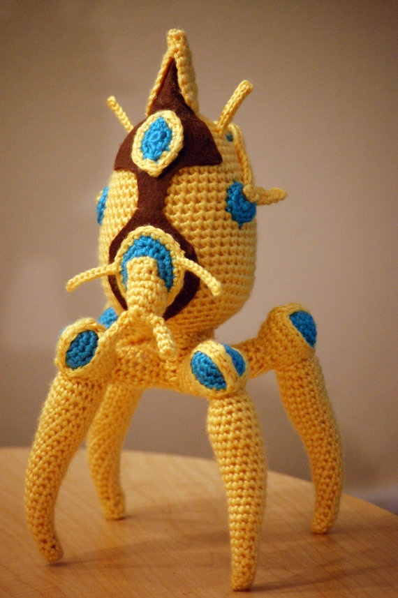 Amigurumi Starcraft : 17 Best images about Geek Knit on Pinterest Learn to ...