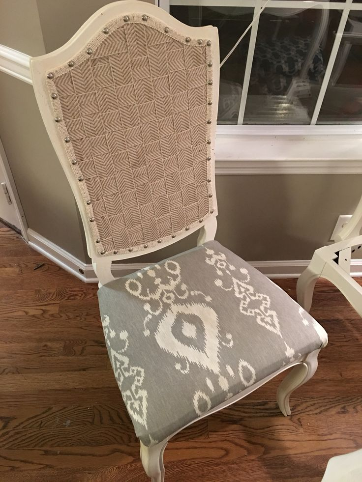 Cane back chair redo