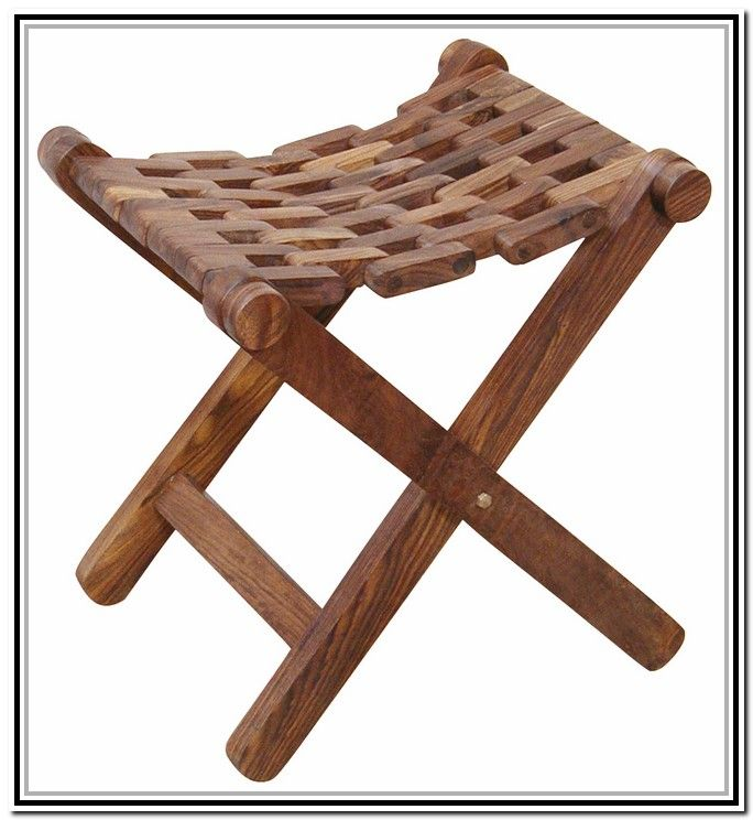 Folding Wooden Stool Plans Free