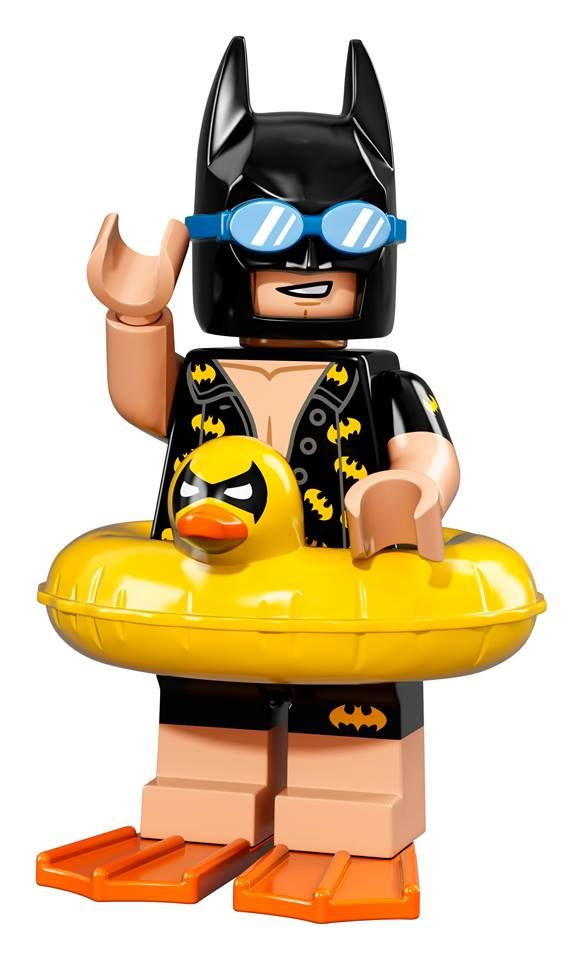 NEW LEGO Minifigure collectable series announced - The LEGO Batman Movie - Vacation Batman