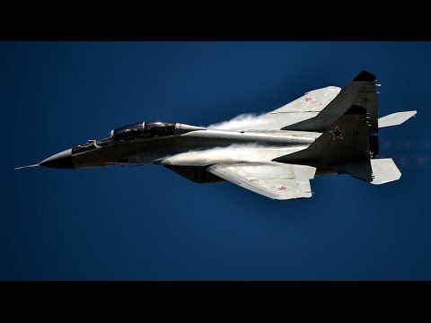 Russian military forces start airstrikes against ISIS in Syria - YouTube
