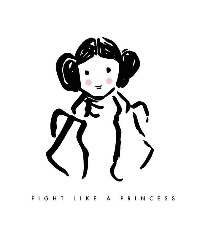 Princess Leia Print