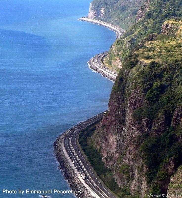 Route de la Corniche, île de la Réunion