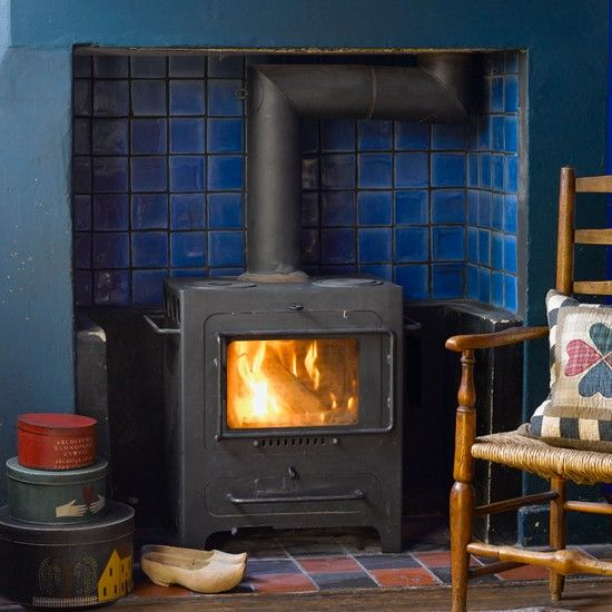 Shaker-style mantelpiece display | Cosy fireplace ideas - 10 of the best | How to create a cosy fireplace | Fireplace design