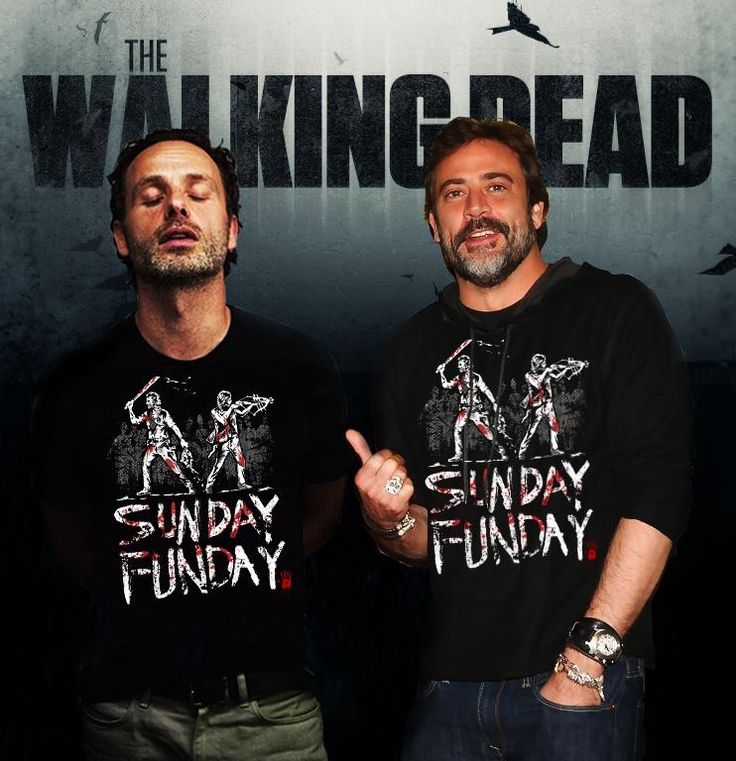 Andrew Lincoln and Jeffrey Dean Morgan | The Walking Dead