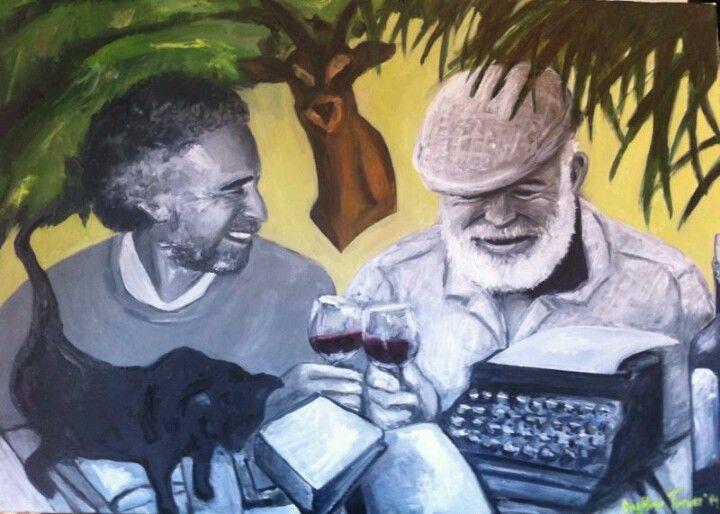 Unas copas con Hemingway. La Habana 1959