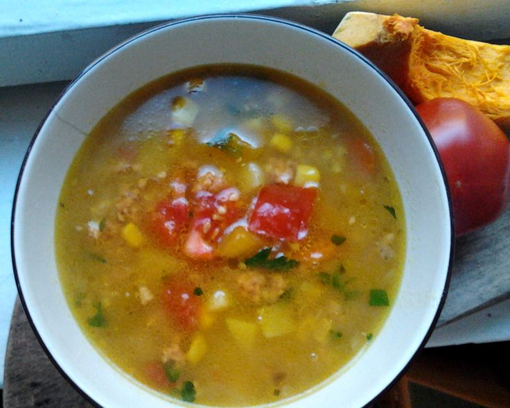 Soup for a rainy day