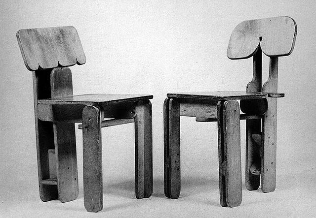 Gerrit van Bakel chairs