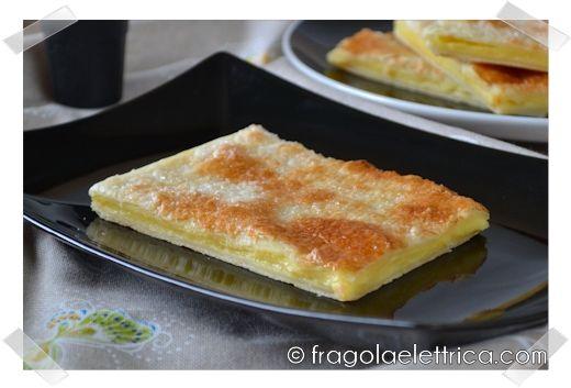 PIZZA SFOGLIA ALLA CREMA fragolaelettrica.com Le ricette di Ennio Zaccariello #Ricetta