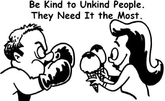 Be Kind to Unkind People!! #TransformationTuesday