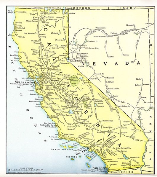 Best Map It Images On Pinterest Antique Maps Southern - Map of southern california