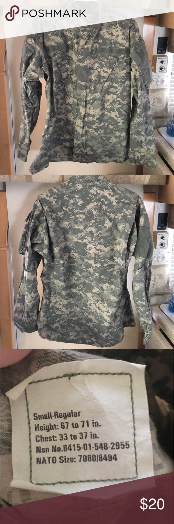 Women's Army BDU - Top Small Women's Army BDU - Top Small - Great Condition Army BDU  Jackets & Coats Utility Jackets