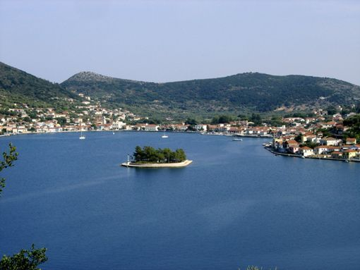 Ithaca, Greece (Site) - Ithaca, Greece (TL 8/04); secluded coves, sweet coastal villages and fish tavernas
